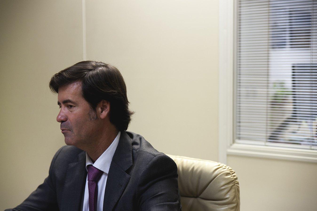 Es presidente de la Confederación de Empresarios de Sevilla desde 2012