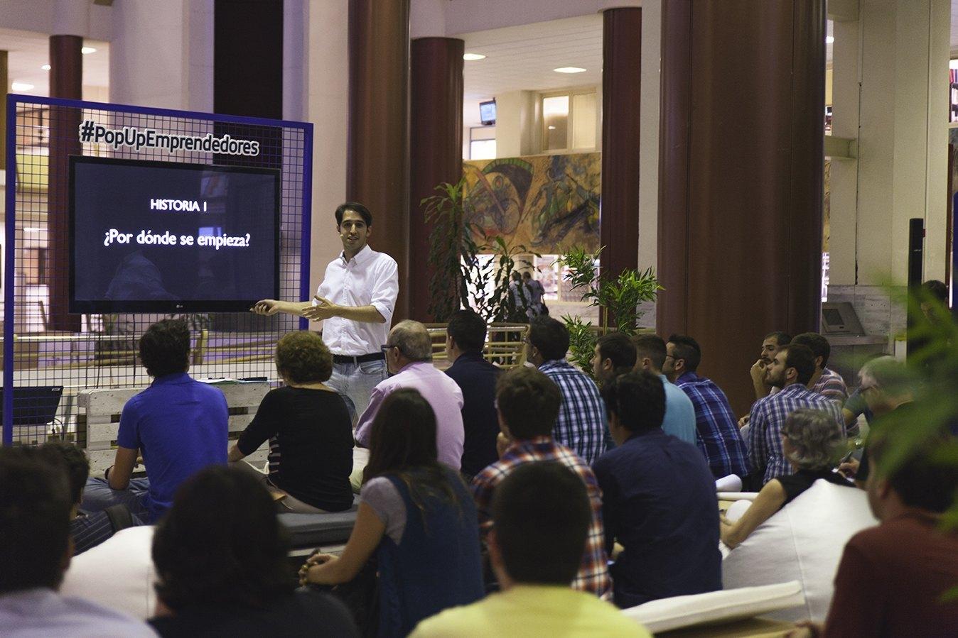 Álvaro Sanmartín, cofundador de Floqq, una plataforma online que vende cursos de formación en formato de vídeo