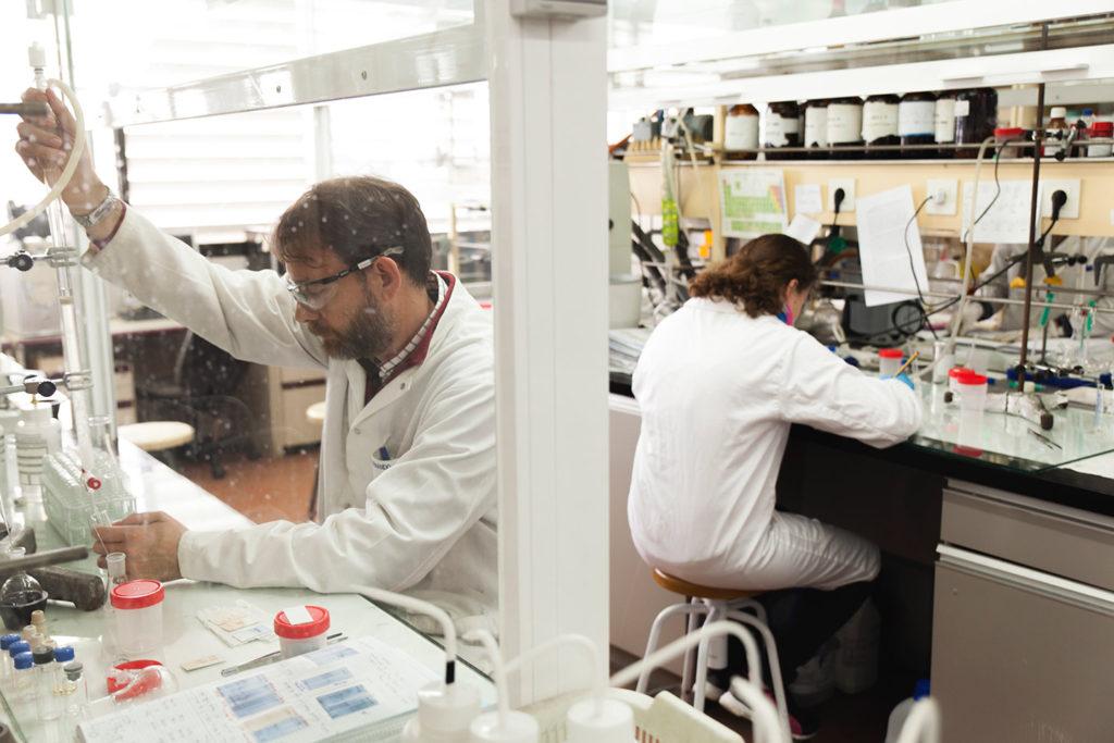 Carmen Ortiz dirige el grupo de investigación de Química Bioorgánica de Carbohidratos de la Universidad de Sevilla