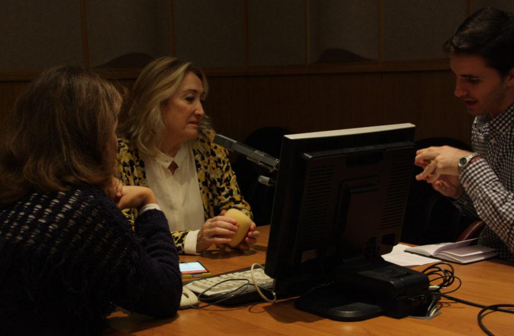 María Esperanza Sánchez durante un momento de la entrevista concedida a NexUS.